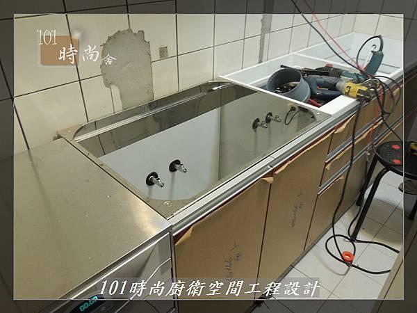 @一字廚房設計 廚具工廠直營  作品分享:汐止朱公館(5).JPG