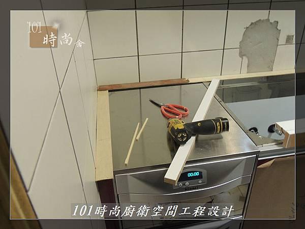 @一字廚房設計 廚具工廠直營  作品分享:汐止朱公館(13).JPG