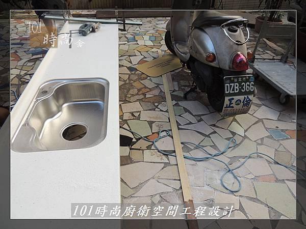 @一字廚房設計 廚具工廠直營  作品分享:汐止朱公館(17).JPG