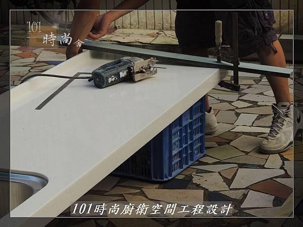 @一字廚房設計 廚具工廠直營  作品分享:汐止朱公館(15).JPG