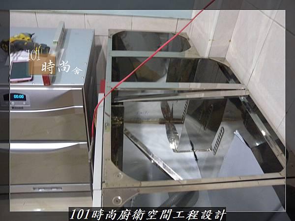 @廚房設計一字型  分享:楊梅李公館 (11).JPG