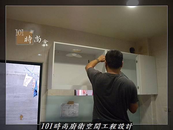 @廚房設計一字型  分享:楊梅李公館 (27).JPG