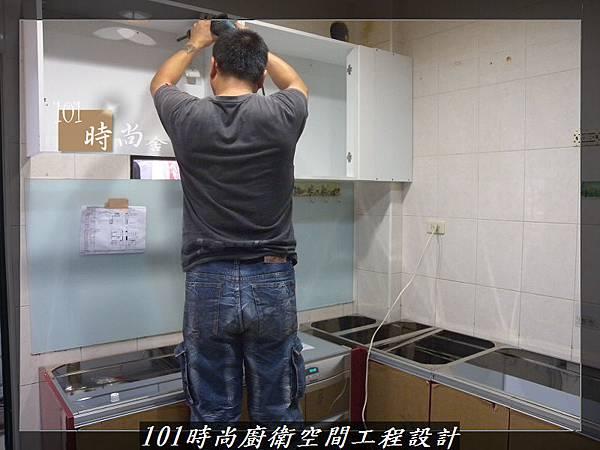 @廚房設計一字型  分享:楊梅李公館 (28).JPG