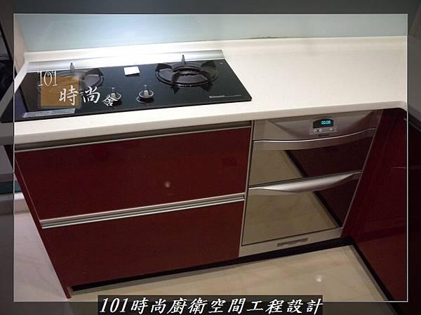 @廚房設計一字型  分享:楊梅李公館 (92).JPG
