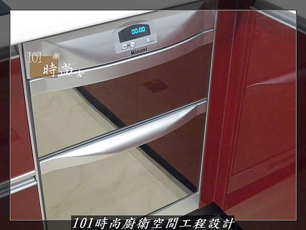 @廚房設計一字型  分享:楊梅李公館 (93).JPG