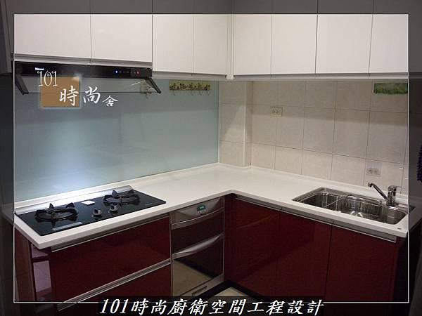 @廚房設計一字型  分享:楊梅李公館 (103).JPG