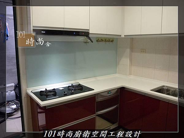 @廚房設計一字型  分享:楊梅李公館 (104).JPG