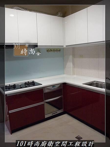 @廚房設計一字型  分享:楊梅李公館 (114).JPG