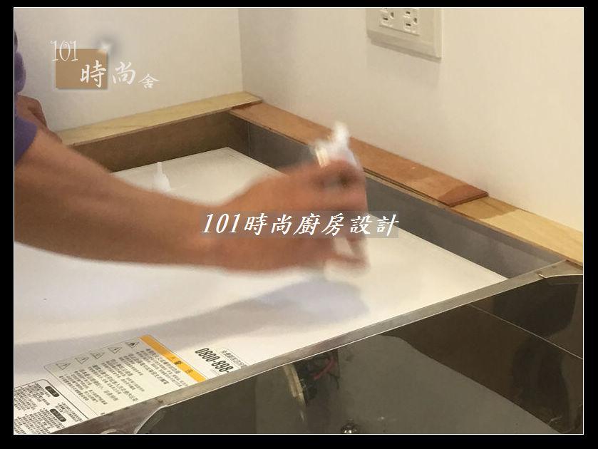 @廚房設計一字型  分享:士林黃公館 (35).JPG
