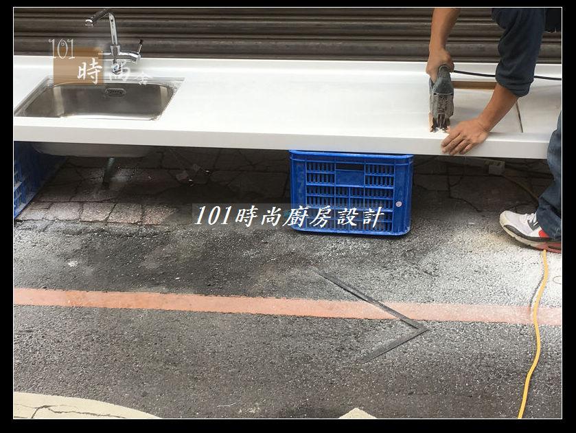 @廚房設計一字型  分享:士林黃公館 (39).JPG