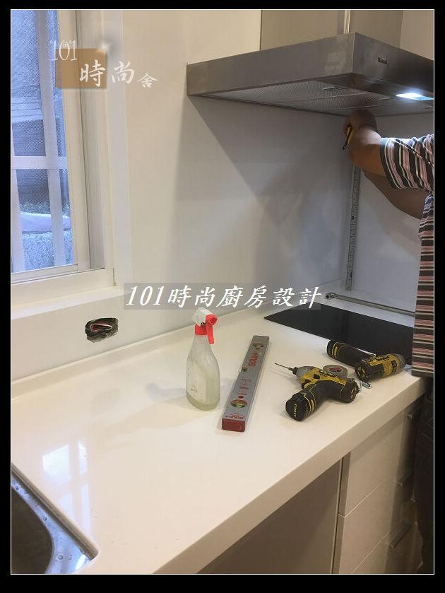 @廚房設計一字型  分享:士林黃公館 (62).JPG
