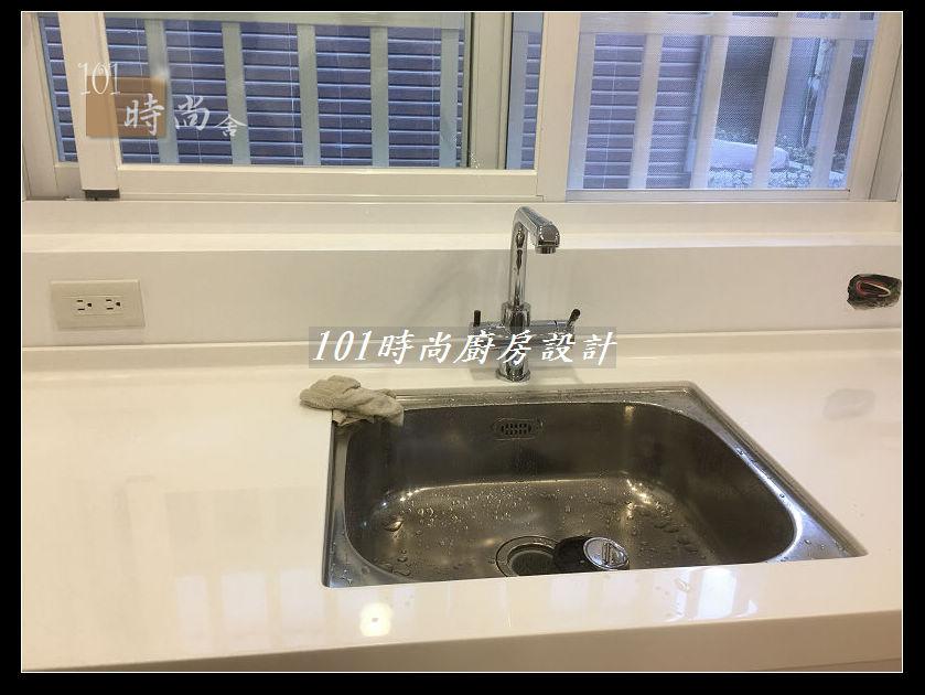@廚房設計一字型  分享:士林黃公館 (63).JPG