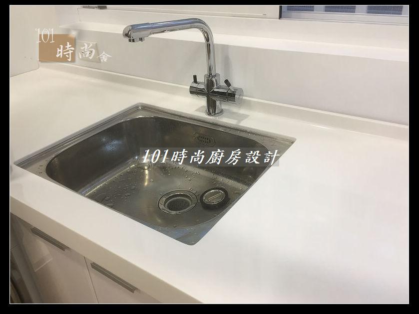 @廚房設計一字型  分享:士林黃公館 (82).JPG