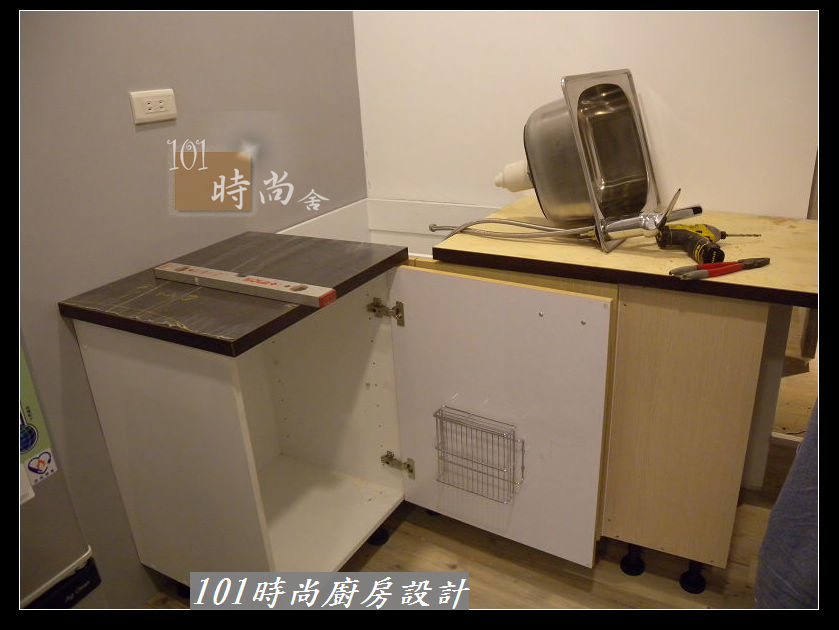 @廚房設計一字型 作品-板橋中山路陳公館(88).JPG