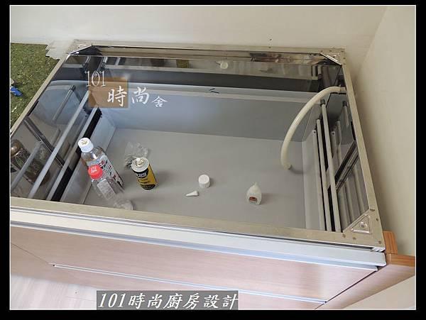 @二字型廚房設計 不鏽鋼檯面+中島櫃 廚具工廠直營 作品分享:政大二街(31).jpg