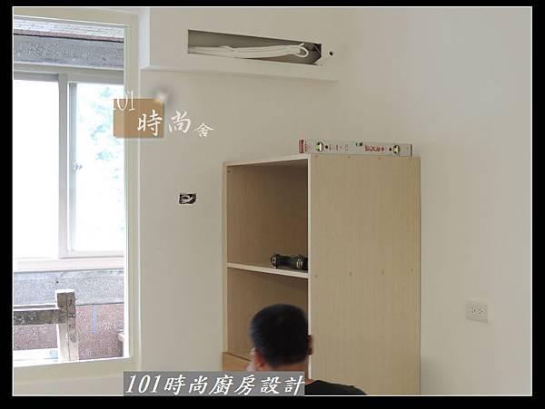 @二字型廚房設計 不鏽鋼檯面+中島櫃 廚具工廠直營 作品分享:政大二街(63).jpg