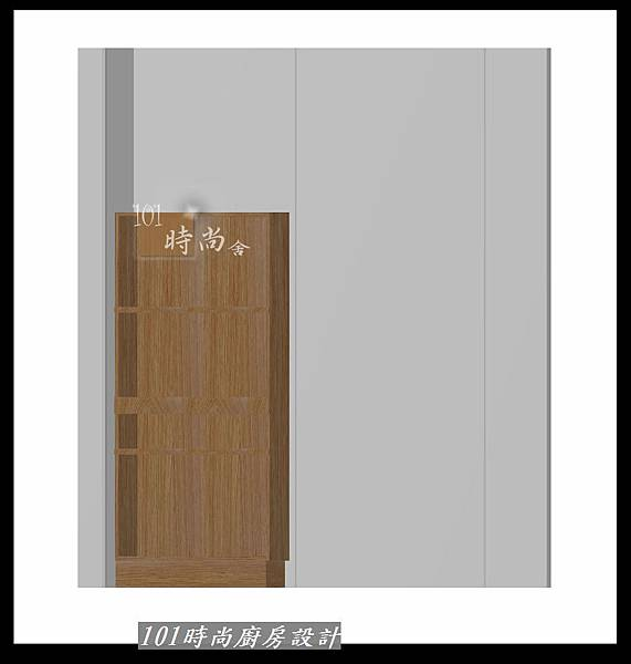 @二字型廚房設計 不鏽鋼檯面+中島櫃 廚具工廠直營 作品分享:政大二街(212).jpg