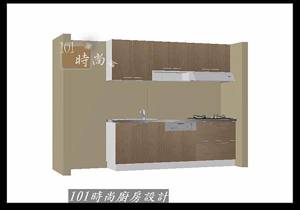 @二字型廚房設計 不鏽鋼檯面+中島櫃 廚具工廠直營 作品分享:政大二街(214).jpg