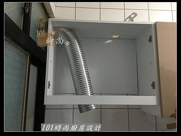 @不鏽鋼檯面 一字廚房設計作品分享:中和黃公館(16).JPG