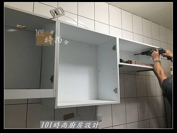 @不鏽鋼檯面 一字廚房設計作品分享:中和黃公館(14).JPG