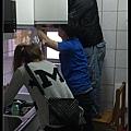 @不鏽鋼檯面一字廚房設計 廚具工廠直營  作品分享:永和謝s公館 (15).JPG
