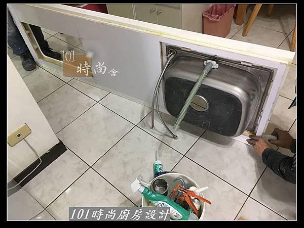 @不鏽鋼檯面一字廚房設計 廚具工廠直營  作品分享:永和謝s公館 (32).JPG