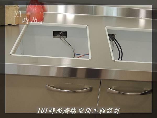 @不鏽鋼檯面一字廚房設計 廚具工廠直營  作品分享:內湖張公館(6).JPG