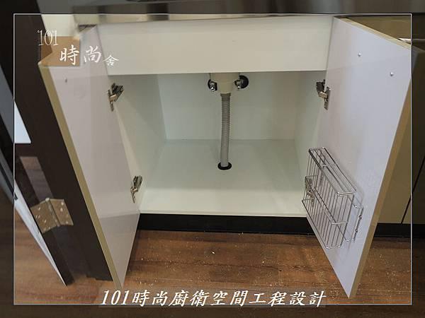 @不鏽鋼檯面一字廚房設計 廚具工廠直營  作品分享:內湖張公館(9).JPG