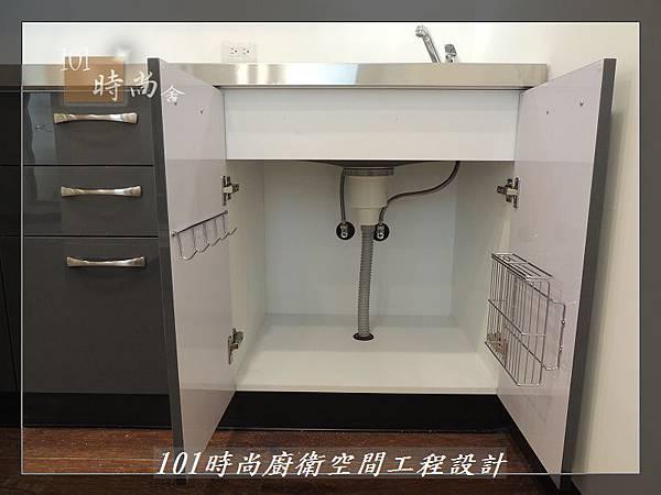 @不鏽鋼檯面一字廚房設計 廚具工廠直營  作品分享:內湖張公館(112).JPG