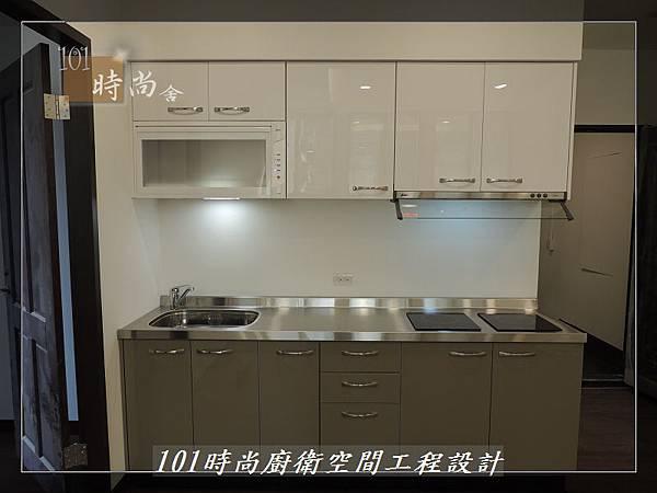 @不鏽鋼檯面一字廚房設計 廚具工廠直營 作品分享:內湖張公館(142).JPG