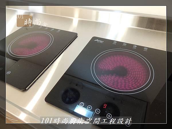 @不鏽鋼檯面一字廚房設計 廚具工廠直營  作品分享:內湖張公館(147).JPG