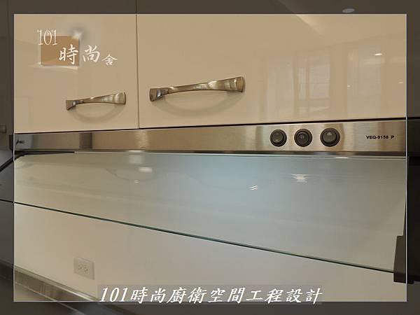 @不鏽鋼檯面一字廚房設計 廚具工廠直營  作品分享:內湖張公館(155).JPG