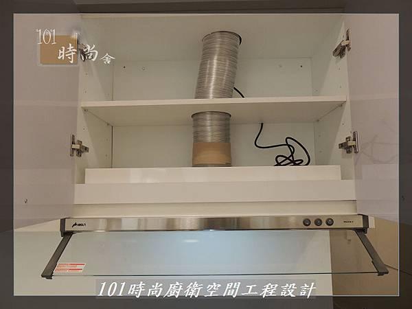 @不鏽鋼檯面一字廚房設計 廚具工廠直營  作品分享:內湖張公館(154).JPG