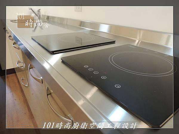@不鏽鋼檯面一字廚房設計 廚具工廠直營  作品分享:內湖張公館(156).JPG
