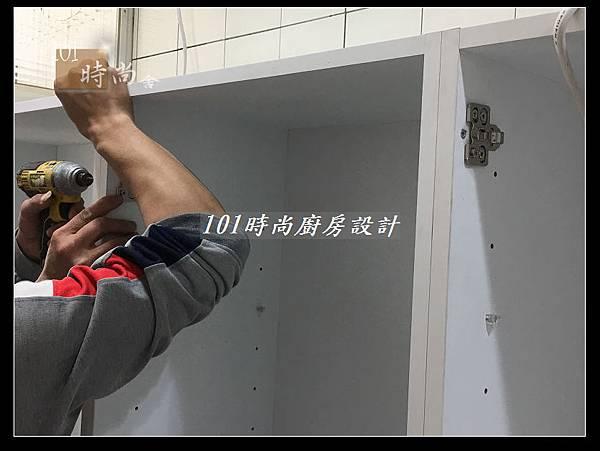 @不鏽鋼檯面一字廚房設計 廚具工廠直營  作品分享:德惠街陳公館(6).JPG
