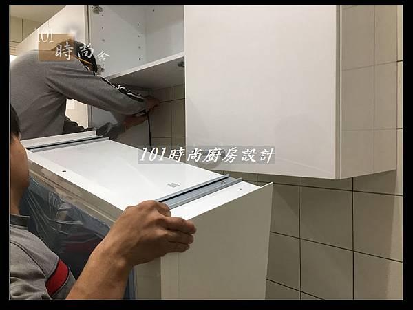 @不鏽鋼檯面一字廚房設計 廚具工廠直營  作品分享:德惠街陳公館(29).JPG
