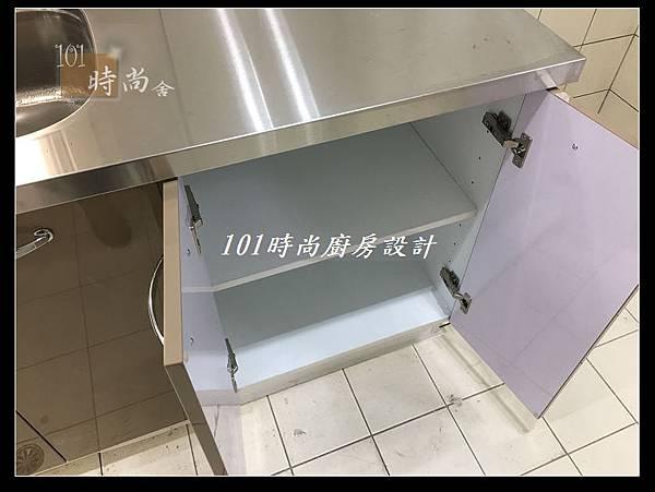 @不鏽鋼檯面一字廚房設計 廚具工廠直營  作品分享:德惠街陳公館(104).JPG
