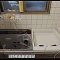 @人造石檯面一字型廚房設計 廚具工廠直營 作品分享:南港林公館(1).jpg