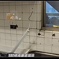 @人造石檯面一字型廚房設計 廚具工廠直營 作品分享:南港林公館(10).jpg