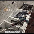 @人造石檯面一字型廚房設計 廚具工廠直營 作品分享:南港林公館(13).jpg