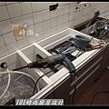 @人造石檯面一字型廚房設計 廚具工廠直營 作品分享:南港林公館(14).jpg