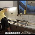 @人造石檯面一字型廚房設計 廚具工廠直營 作品分享:南港林公館(32).jpg