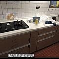 @人造石檯面一字型廚房設計 廚具工廠直營 作品分享:南港林公館(56).jpg
