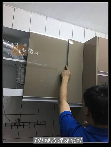 @L字型廚房設計 廚具工廠直營作品分享:中和新生張公館(14).JPG