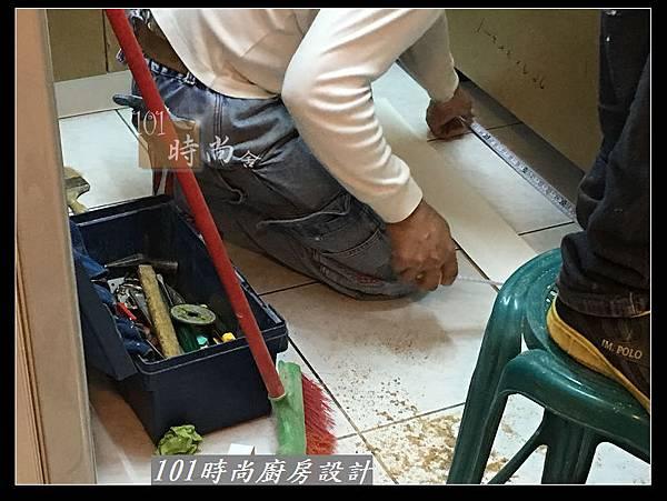 @L字型廚房設計 廚具工廠直營作品分享:中和新生張公館(16).JPG