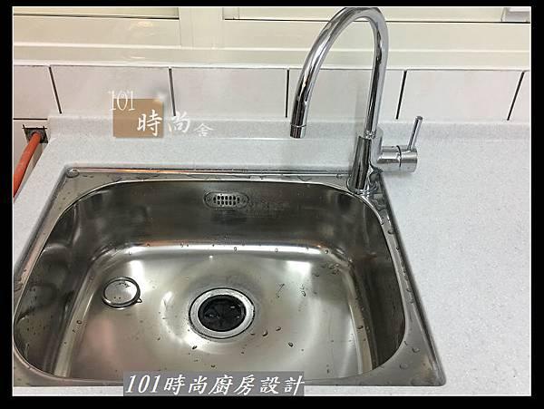 @L字型廚房設計 廚具工廠直營作品分享:中和新生張公館(60).JPG