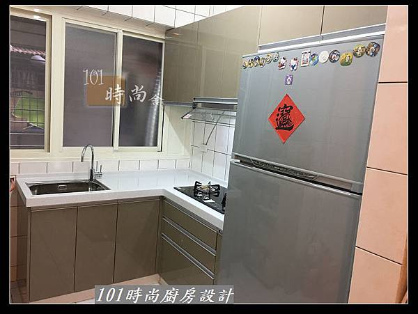 @L字型廚房設計 廚具工廠直營作品分享:中和新生張公館(67).JPG