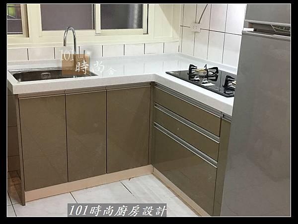 @L字型廚房設計 廚具工廠直營作品分享:中和新生張公館(68).JPG