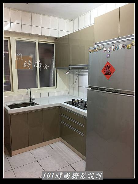 @L字型廚房設計 廚具工廠直營作品分享:中和新生張公館(70).JPG