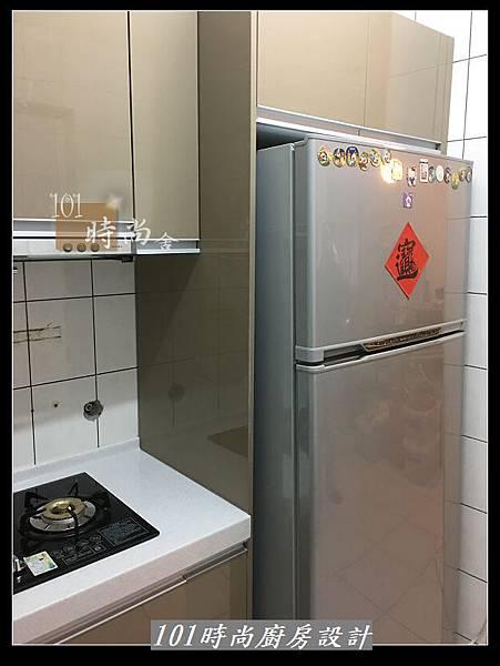 @L字型廚房設計 廚具工廠直營作品分享:中和新生張公館(74).JPG